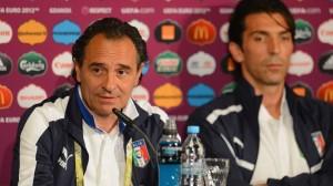 Cesare Prandelli entraineur de l'italie