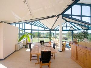 Grande veranda design, originale et lumineuse