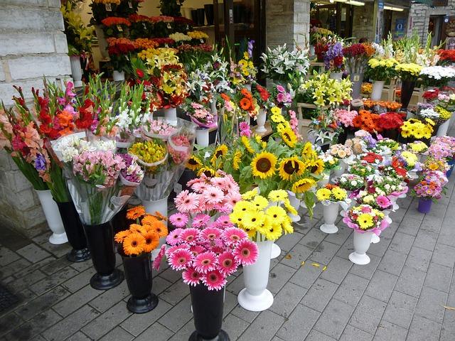 Référencement local d'une boutique de fleurs