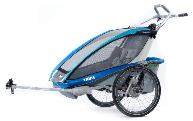 Remorque vélo Thule 2 enfants